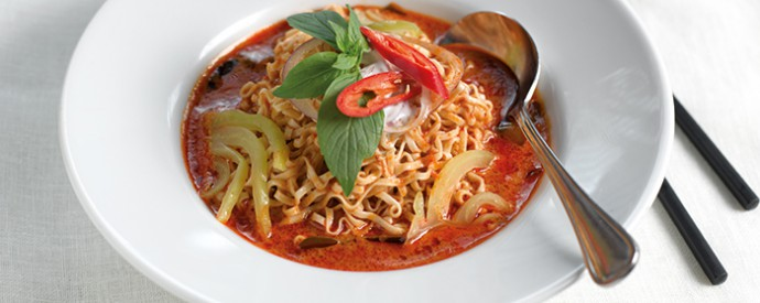 87: Noodles in Red Curry Soup