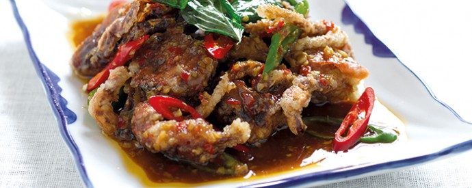 68: Soft Shell Crab with Chilli& Holy Basil